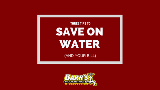 Three Tips to Save on Water