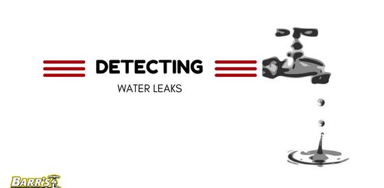 Detecting Water Leaks